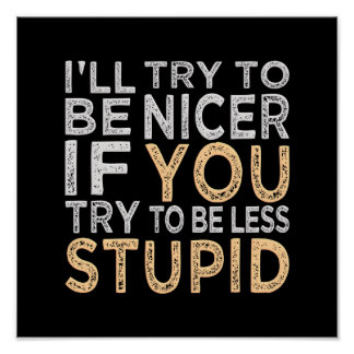 Try To Be Nicer poster