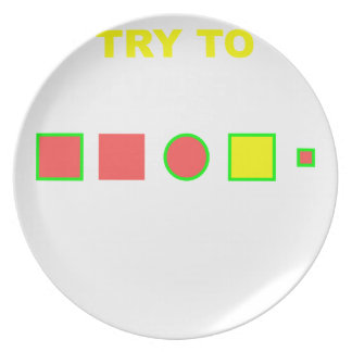 Try to solve this: plate