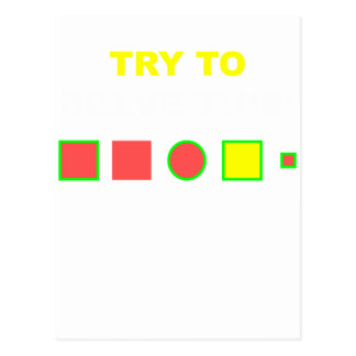Try to solve this: postcard