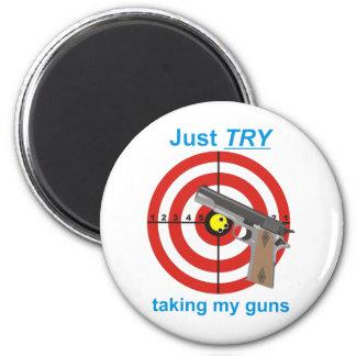 Try to take my guns magnet