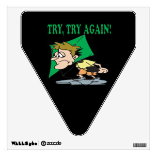 Try Try Again Wall Decal