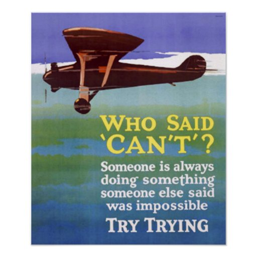 Try Trying Success Posters