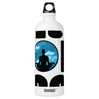 try yoga.png aluminum water bottle