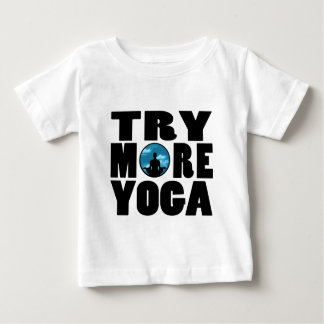 try yoga.png baby T-Shirt