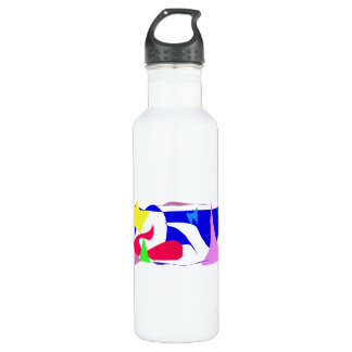 Trying Hard Stainless Steel Water Bottle