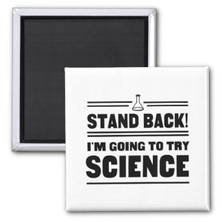 Trying Science 2 Inch Square Magnet