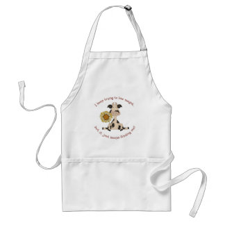 Trying to lose weight adult apron