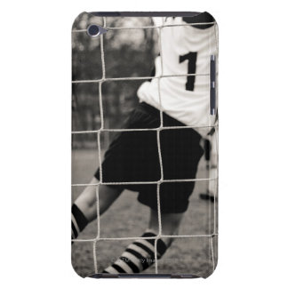 Trying to protect the team with the net in focus iPod touch case