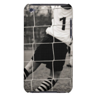 Trying to protect the team with the net in focus iPod touch cover