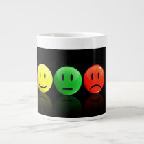 Trying to raise awareness for Bipolar Disorder. Large Coffee Mug
