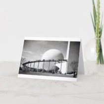 Trylon & Perisphere 1939 New York World's Fair Car Card