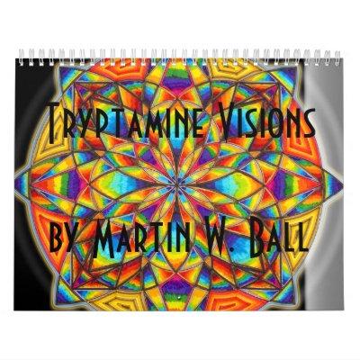 Tryptamine Visions Calendar