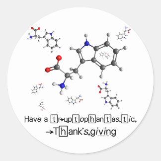 Tryptophan Molecule Sticker