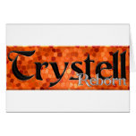Trystell Reborn Greeting Card