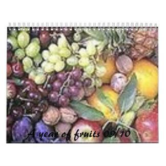 ts-2, A year of fruits 09/10 Calendar