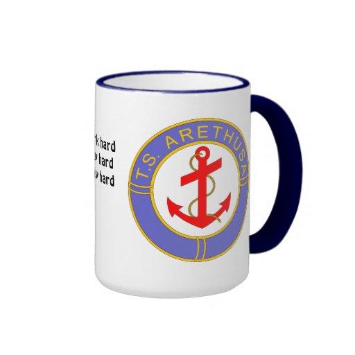Ts arethusa badge ringer mug zazzle for Ts arethusa pictures
