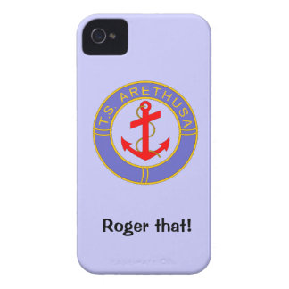 TS Arethusa badged Roger that! iPhone 4 Case-Mate Case