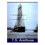 TS Arethusa, dejando Upnor Postal