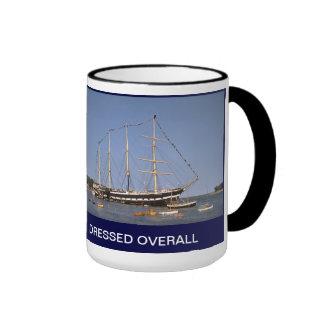 TS ARETHUSA DRESSED OVERALL RINGER COFFEE MUG