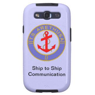 TS Arethusa Ship to ship communication Samsung Galaxy SIII Case
