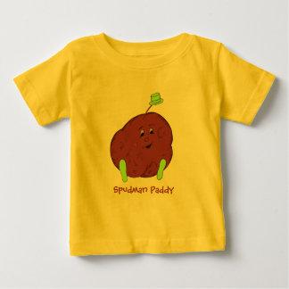 Ts-camisa del niño del arroz de Spudman Remeras