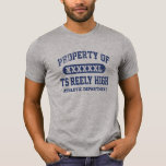 TS Reely High Vintage PROPERTY ATHLETIC DEPT Tee Shirt