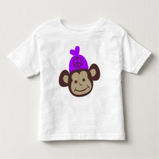 Ts retros de Monky de la paz del vintage, regalos Tee Shirts