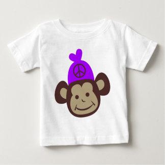 Ts retros de Monky de la paz del vintage, regalos Camisetas