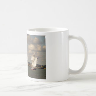 TS Royalist entering Poole Harbour Classic White Coffee Mug