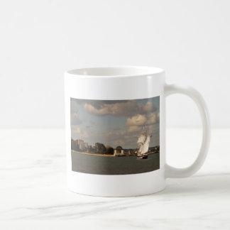 TS Royalist entering Poole Harbour Mugs