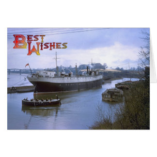 TS Vindicatrix, Avonmouth UK Card