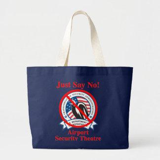 TSA: ¡Apenas diga no! Bolsa Tela Grande
