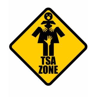 TSA Checkpoint Spaghetti Tank shirt