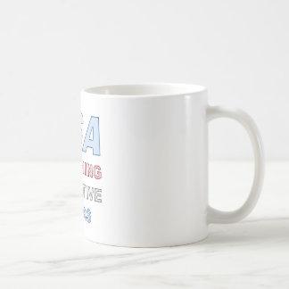 TSA CLASSIC WHITE COFFEE MUG