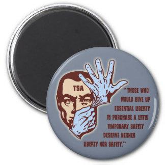 TSA - Essential Liberty 2 Inch Round Magnet