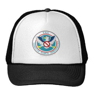 TSA Funny Logo with Cartoon Eagle Trucker Hat