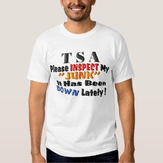 TSA Inspect My Junk Shirt