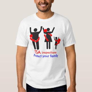 TSA Inspections - Protect your Family Shirt