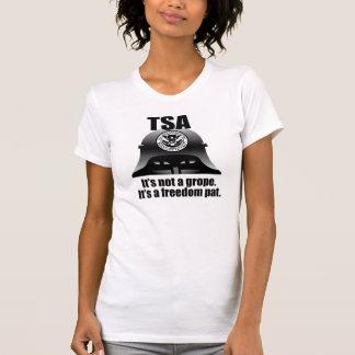 TSA: It's not a grope. It's a freedom pat. Tee Shirt