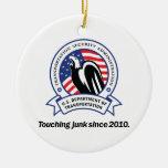 TSA Junk Christmas Ornament