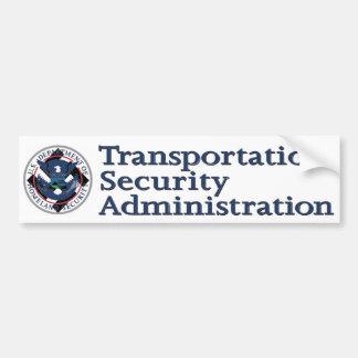 TSA = Nazi Bumper Sticker