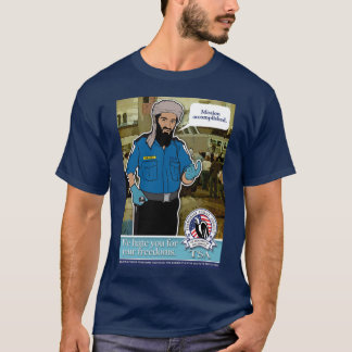 TSA Parody Customizable Shirt