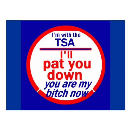 TSA  Postcard