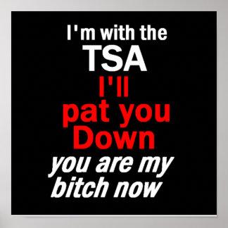 TSA POSTER Print