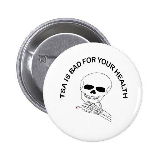 TSA prohibido Pin