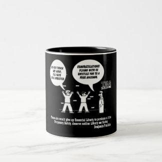 TSA Screening Two-Tone Coffee Mug
