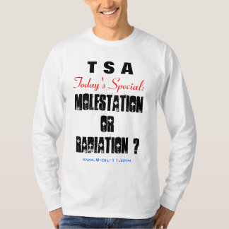 """ TSA - Today's Special "" T Shirt"