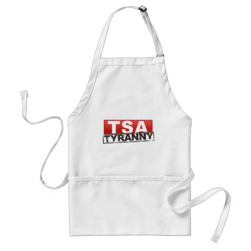 TSA Tyranny Logo Adult Apron