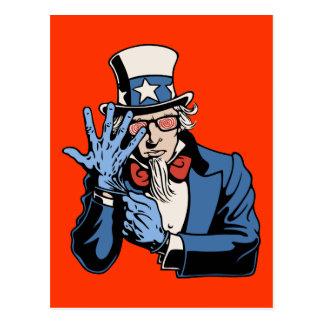 TSA- Uncle Sam Postcard