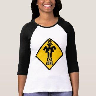 TSA Zone Womens Raglan shirt